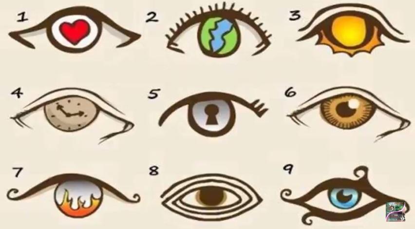 test de los ojos