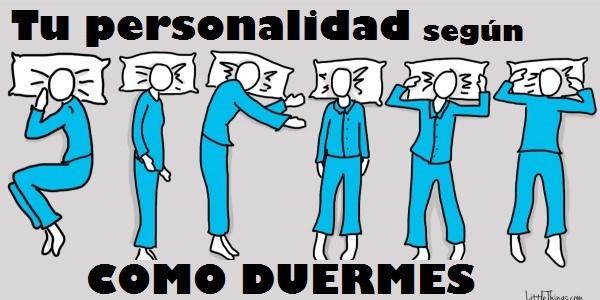 tu personalidad segun como duermes