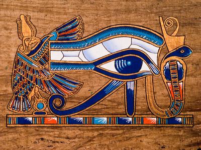 Egyptian papyrus, Horus Eye