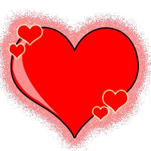 corazon para dia de enamorados