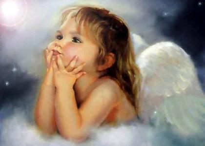 Imagenes tiernas de babe angel