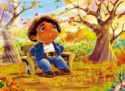 imagenes tiernas para otoño