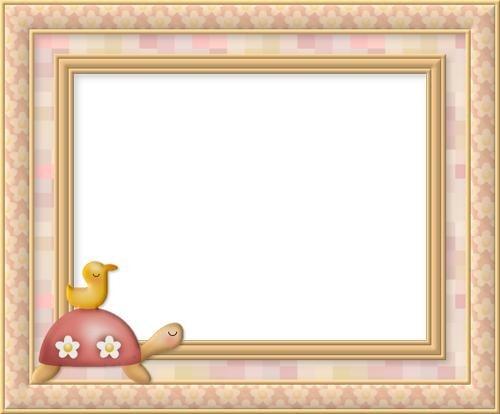 marcos para fotos infantiles de tortuga