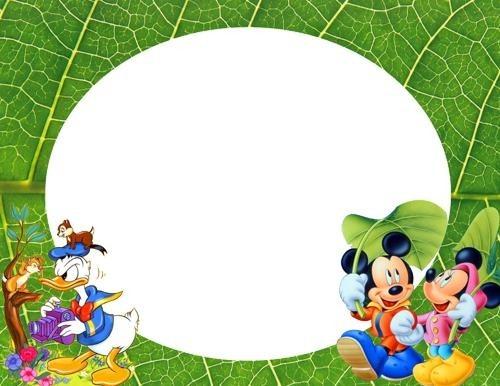marcos para fotos infantiles mickey mouse