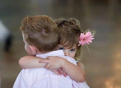 Abrazo tierno