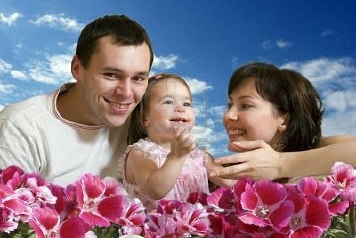 Imagen tierna de familia