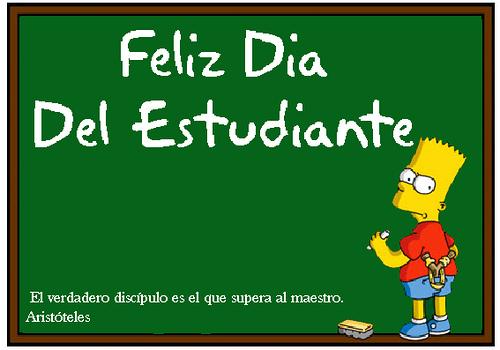 Feliz dia del estudiante