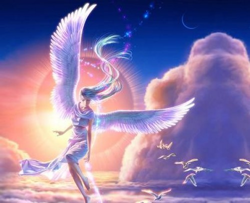 Imagenes tiernas de angel