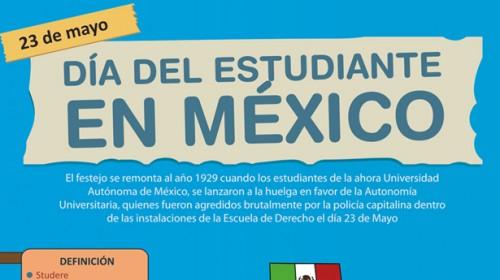 dia del estudiante en mexico