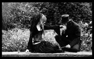 imagenes tiernas de amor gotico