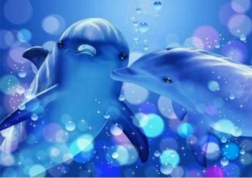 Angeles Delfines Amorosos