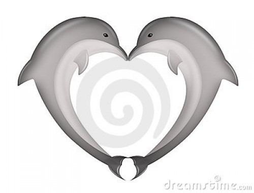 delfines besandose