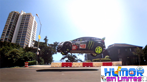 DC Shoes- Ken Block's - Gymkhana FIVE V- Ultimate Urban Playground (San Francisco)