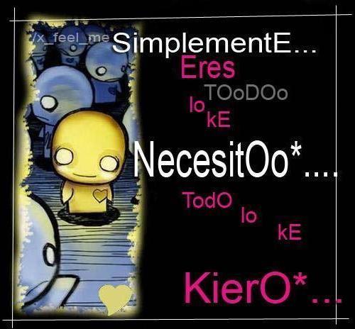 Simplemente Te necesito
