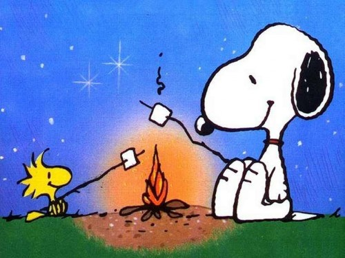 Snoopy y Woodstock