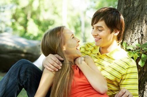 imagen de pareja feliz