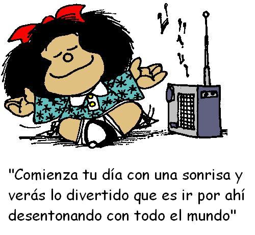 Mafalda- comienza tu dia