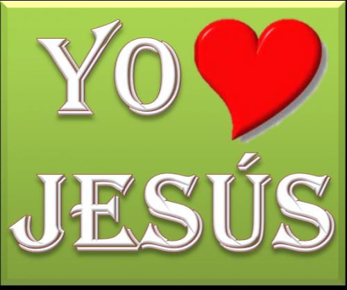 Yo amo a Jesús