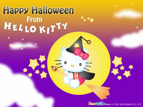 Halloween-Wallpaper-hello-kitty