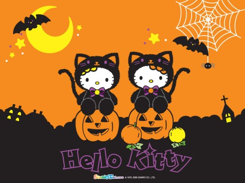 Hello-Kitty-Halloween-Wallpaper