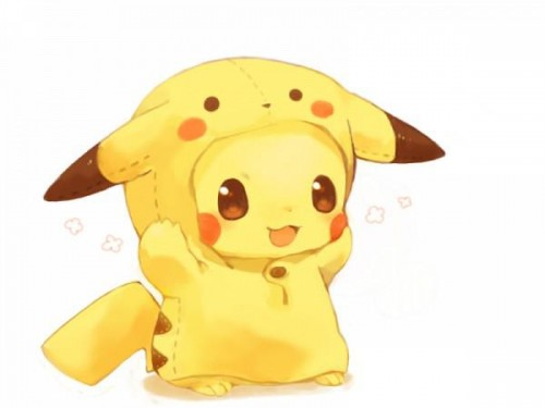 Pikachu disfrazado de Pikachu