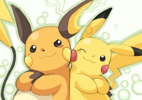Pikachu y Ranchu