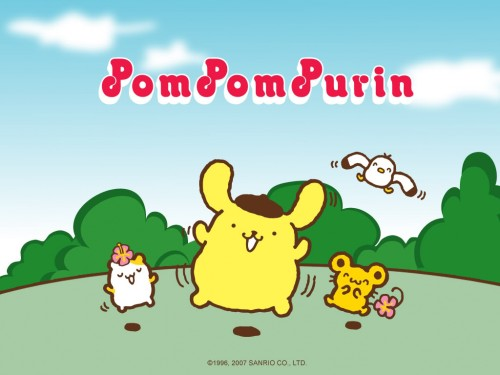 Pom-Pom-Purin-Wallpaper-Sanrio-Character