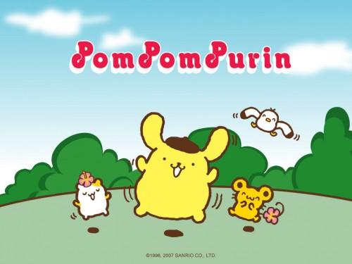 Pom-Pom-Purin-Wallpaper-Sanrio-Character