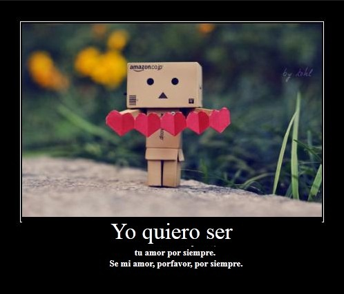 Yo quiero ser tu amor