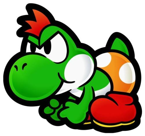 Yoshi enojado