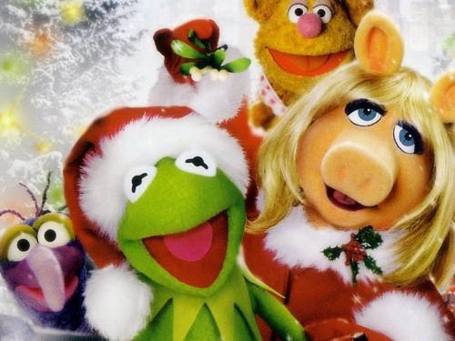 Los mupest en navidad