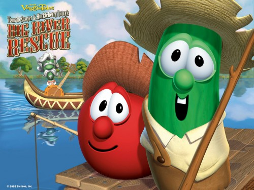 Veggie-Tales - big river