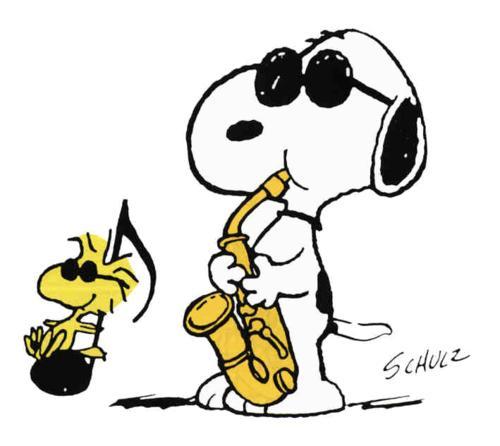 Woodstock y Snoopy