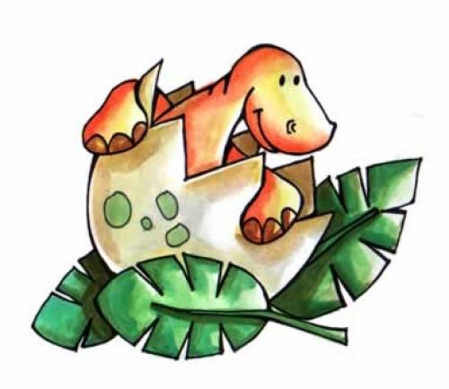 dinosaurio tierno