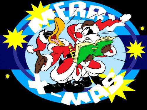 magenes navidenas de los Looney Toons