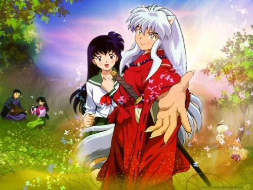Inuyasha y Aome