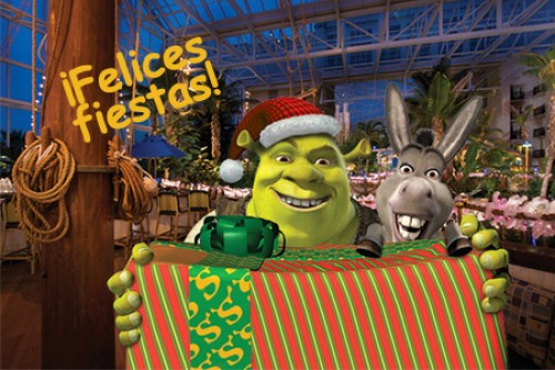 felices fiestas shrek