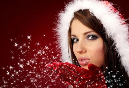 besos navidenos