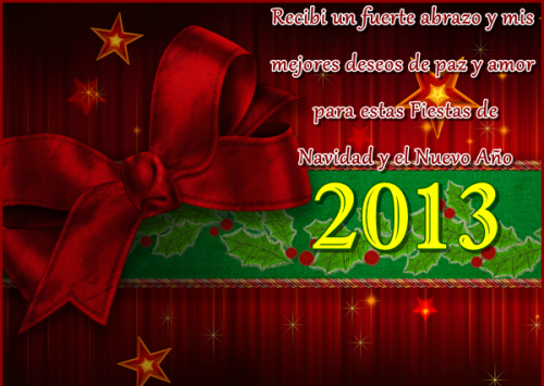 tarjetas para navidad 2013