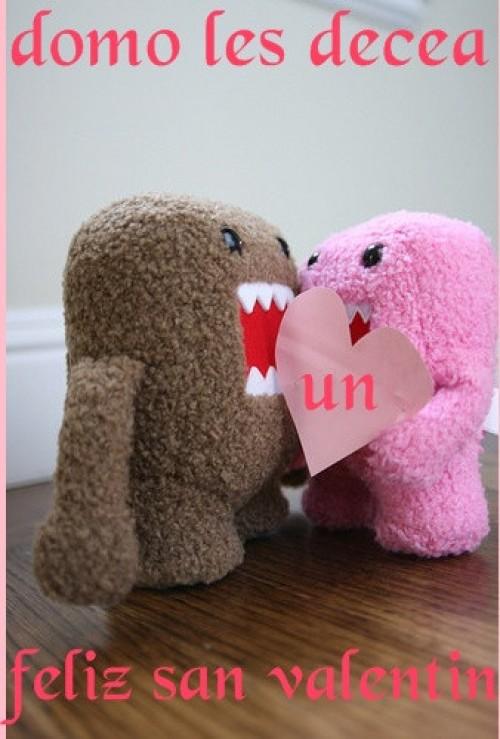 Imagenes de Domo Kun para el día de San Valentin