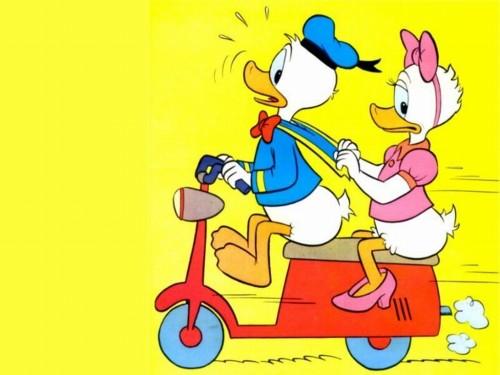 imagenes lindas Donald y Daisy