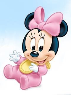 Im genes tiernas de minnie beb - Minnie y mickey bebes para colorear ...