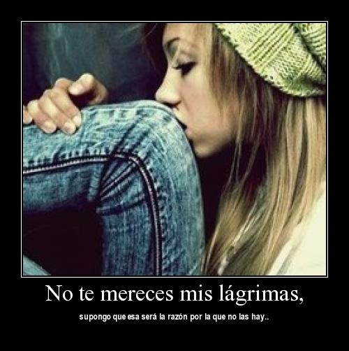 no merces mi amor
