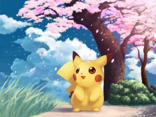 imagenes tiernas de Pikachu