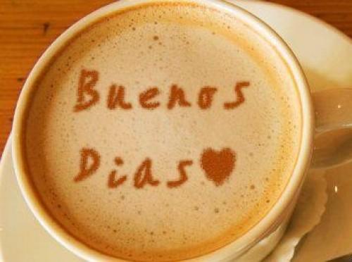 Buenos días café