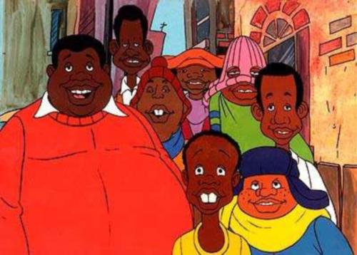 Gordo Alberto y la pandilla Cosby