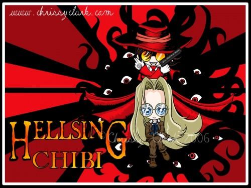 imagenes tiernas de Hellsing