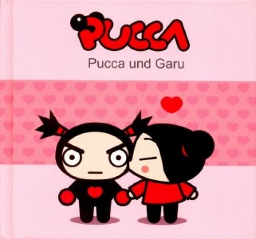 imagenes de amor de Pucca y Garu