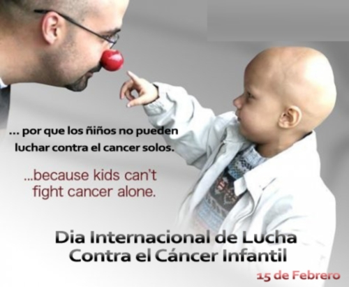 15 de Febrero Dia del Cancer Infantil
