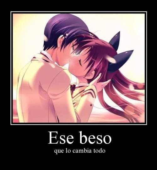 besos Anime